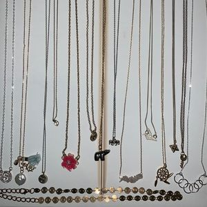 Cute dainty necklaces